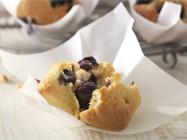 recipe image Muffins myrtilles citron